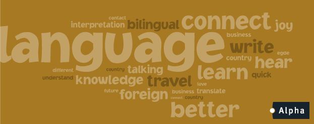 gerechtstolken van alpha talen