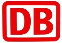 Das undatierte Archivbild zeigt das Logo der Deutschen Bahn AG. Die Deutsche Bahn AG wird durch einen riesigen Sanierungsrückstau in den nächsten Jahren massiv in die roten Zahlen fahren und muss den Börsengang verschieben. In den nächsten drei Jahren werden nach einem Bericht des Nachrichtenmagazins «Der Spiegel» Verluste von jährlich zwischen 800 Millionen und 1,2 Milliarden DM erwartet. Bahn-Chef Hartmut Mehdorn sprach von weder bestätigten noch endgültigen Zahlen. Bislang war noch von Gewinnen ausgegangen worden.  dpa